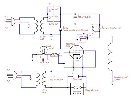 small resolution of vacuum tube tesla coil vttc schematic interpretation electrical tesla coil wiring diagram tesla coil diagram math
