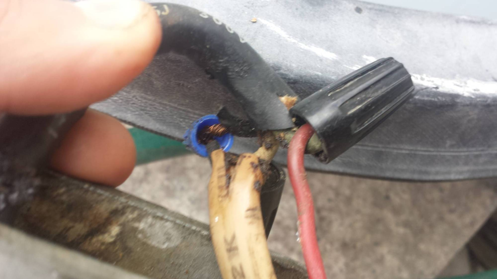 hight resolution of  why wires coming from cave end up at the outlet at the shed also how do i get power to the light with one black wire carrying power outlet outside