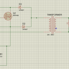 Step Down Transformer Diagram Mercedes T1 Wiring Voltage Spikes In Ac Controller - Electrical Engineering Stack Exchange