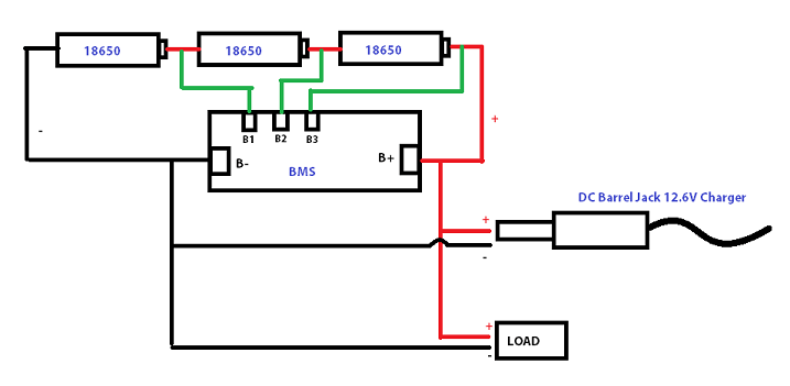 battery pack wiring diagram