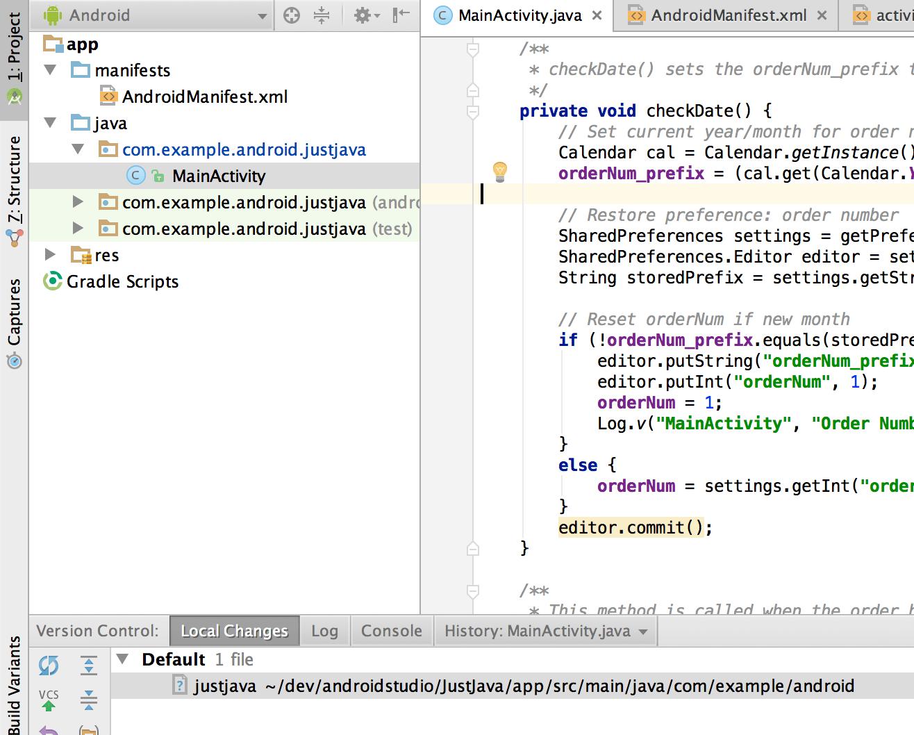 Log v Java