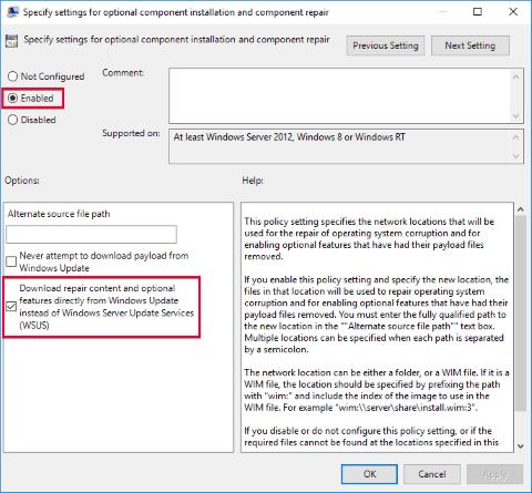 Install Net 3 5 Framework on Windows Server 2012 or 2016