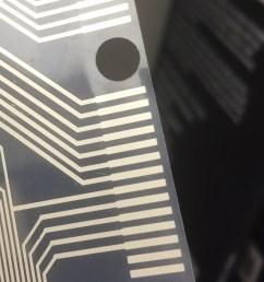plastic sheet taken from keyboard [ 1540 x 2290 Pixel ]