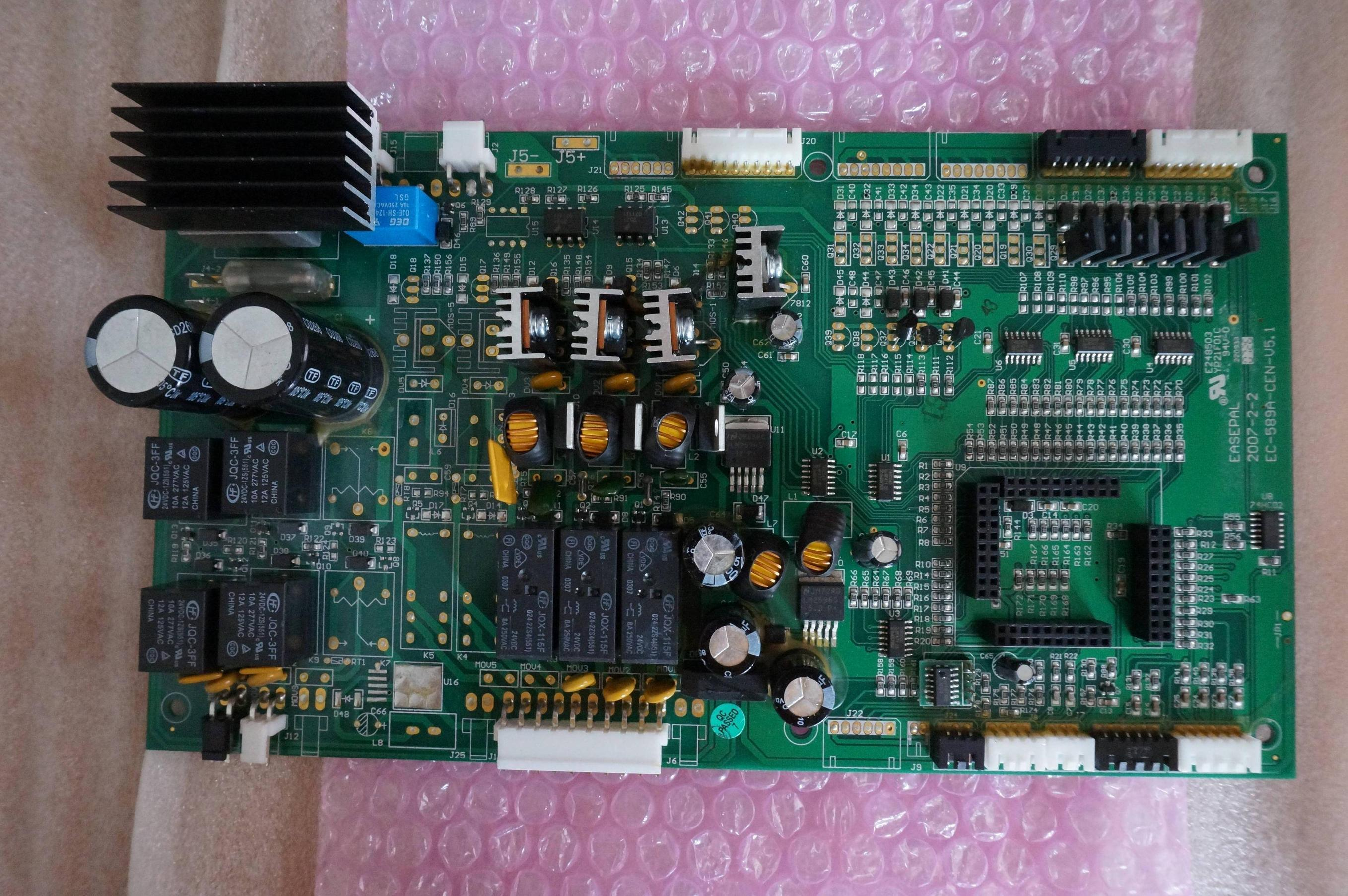 PCB Identification  Many relays 2 LM2596s and other