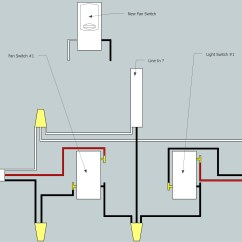 Installing A 3 Way Switch With Wiring Diagrams Decomposition Diagram In Visio Electrical Need Help Adding Fan To Existing
