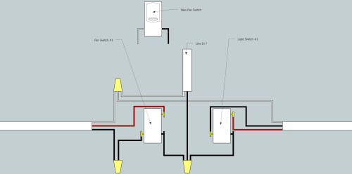 small resolution of electrical need help adding fan to existing 3 way switch setup 3 way switch multiple lights wiring diagram wiring new 3 way switch