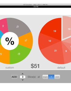 Xypiechart also is there  good iphone pie chart library which will produce rh stackoverflow