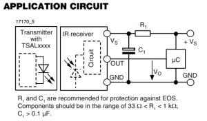 Understanding circuit diagram on datasheet and resistor