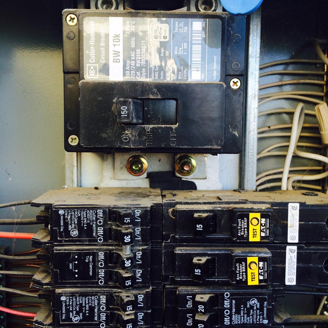 Home Breaker Panel Wiring Diagram Breaker Box Wiring Diagram