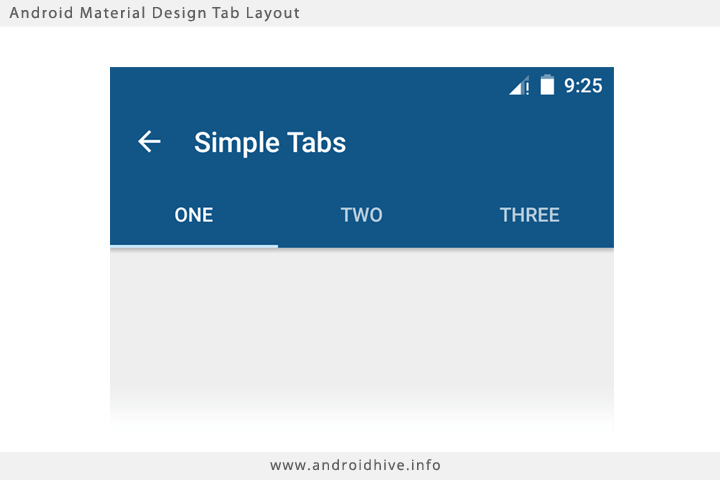gui design toolbar with
