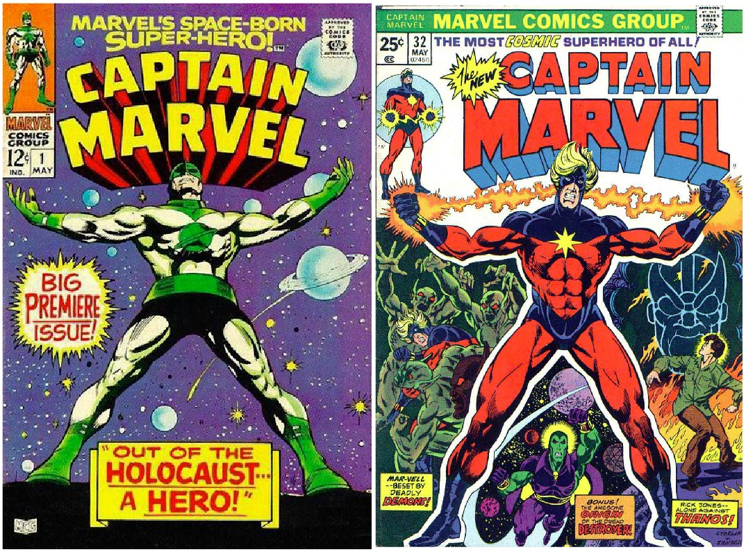 who was the first established mainstream hero type comic book