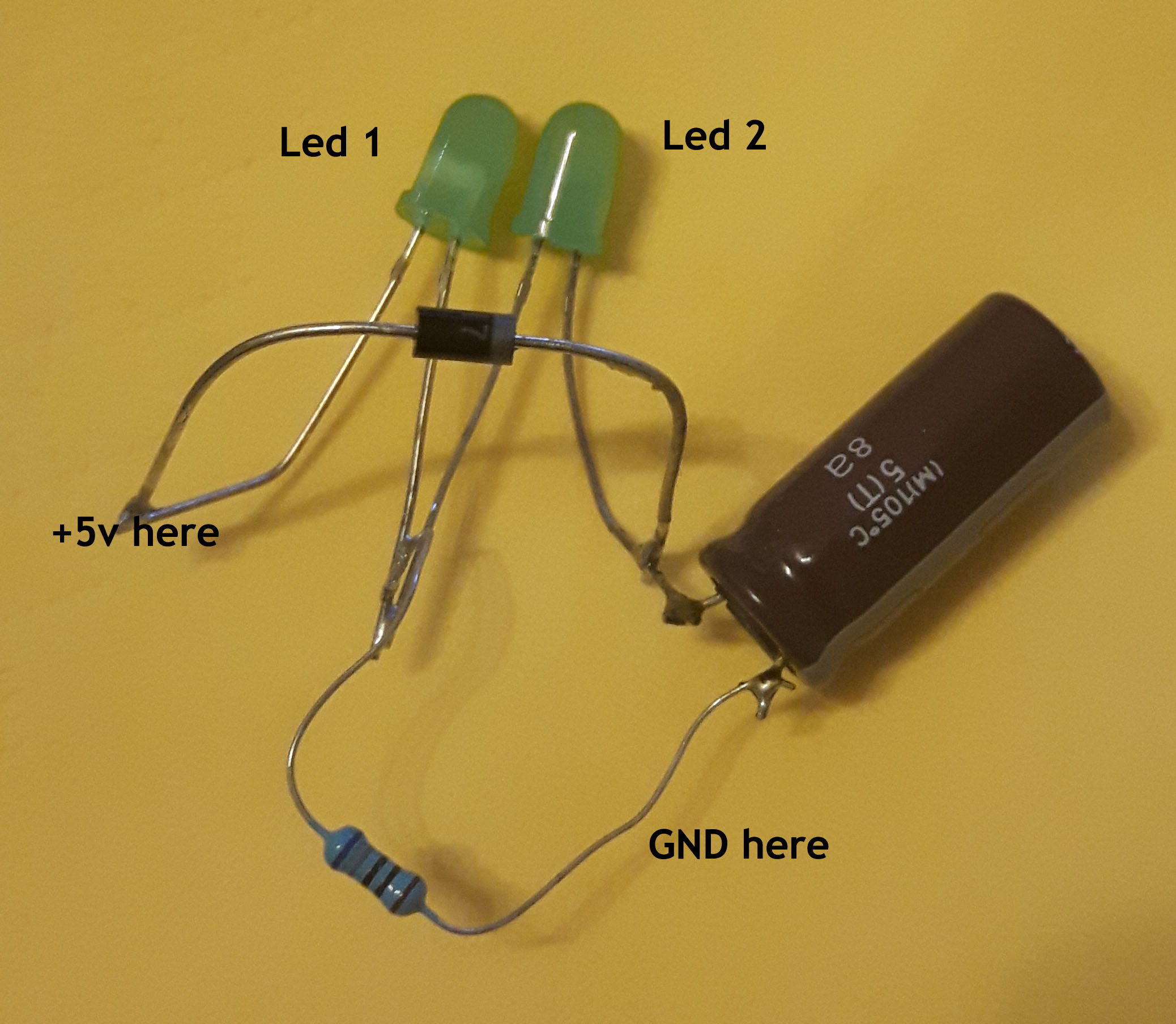 Circuitlab Led With A Capacitor