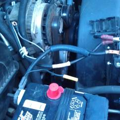 2002 Chevy S10 Alternator Wiring Diagram Pir Lighting Electrical What Is The Correct Factory For A