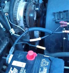 incorrect 1998 suburban battery alternator wiring [ 3264 x 1952 Pixel ]