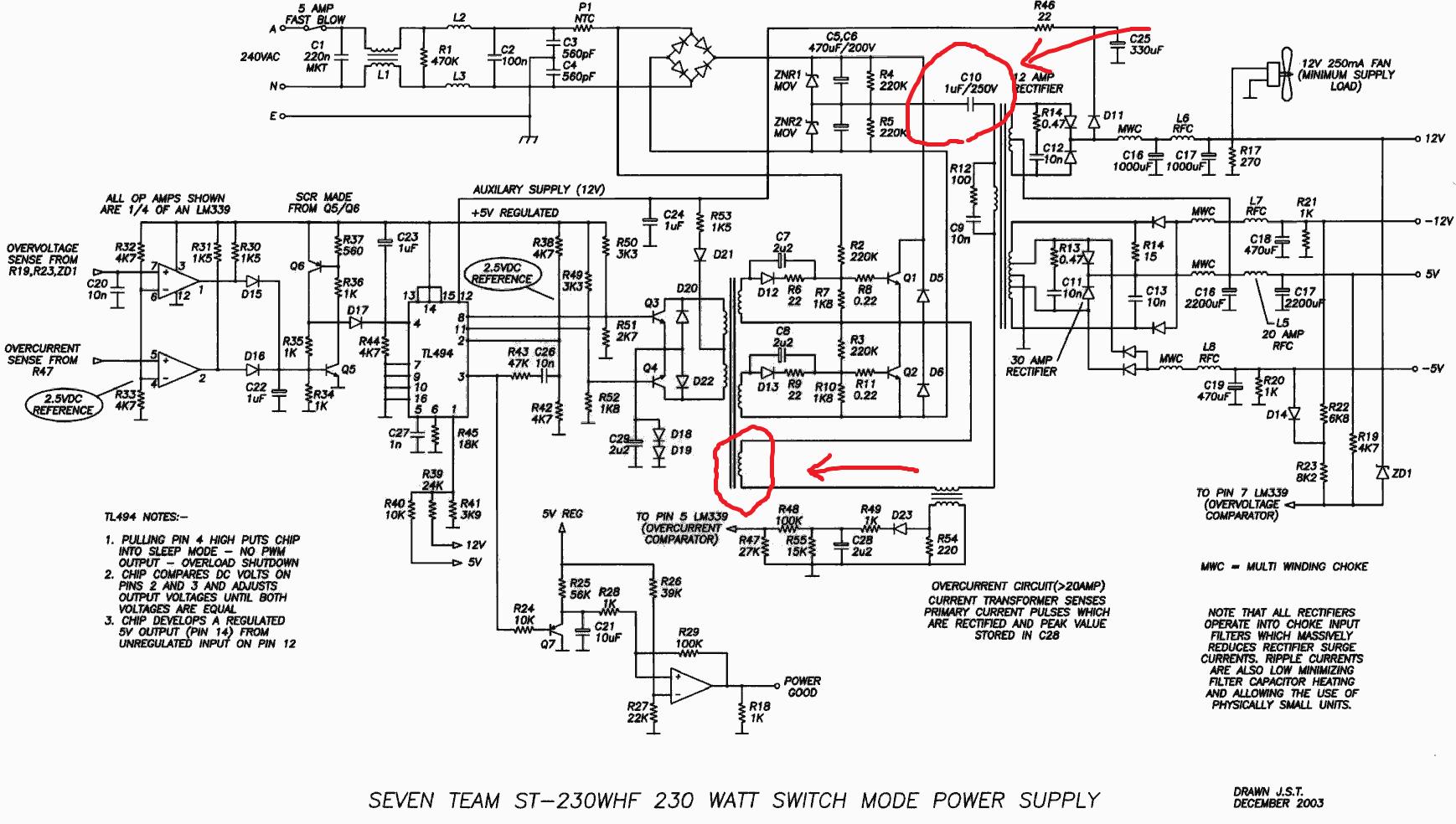 200x Wiring Diagram Power Supply Half Bridge Converter Electrical