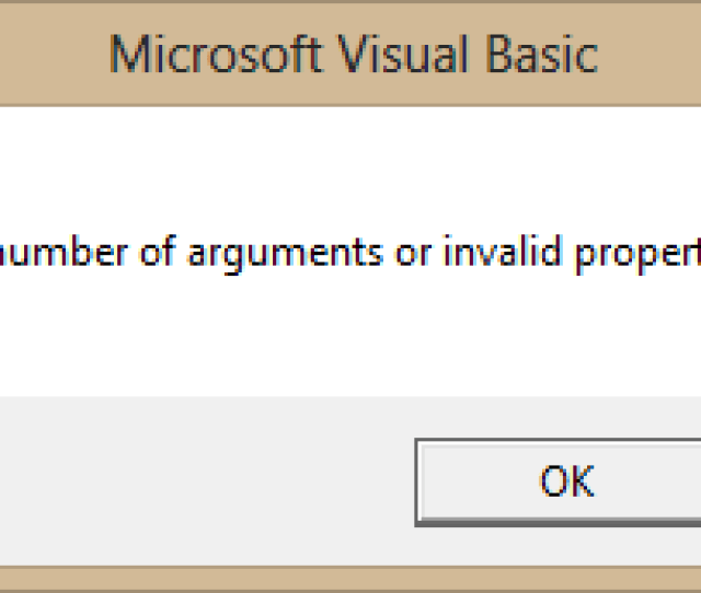 Vba Is Not Opened Following This Error As It Usually Is And No Code Within Vba Is Indicated As The Problem If I Open The Developer Console And Then Try
