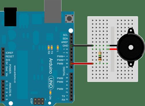 Drive 12v Piezo Buzzer Arduino Arduino Stack Exchange