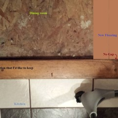 Wood Kitchen Floors Waste Baskets Flooring - Do I Really Need An Expansion Gap Around The ...