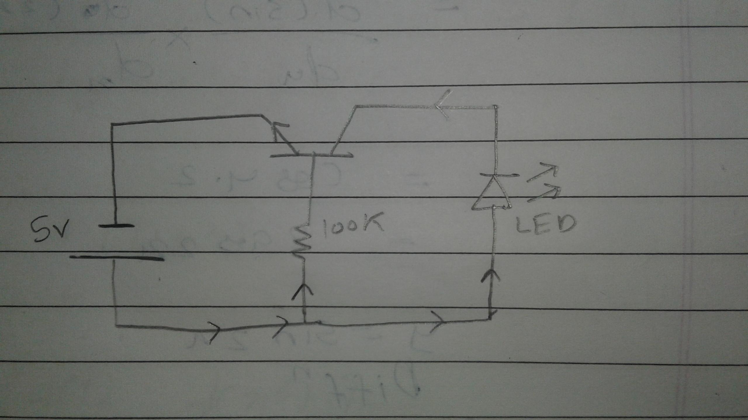 Circuitlab Basic Transistor