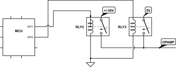 Is it safe to control a solid state relay from the MCU