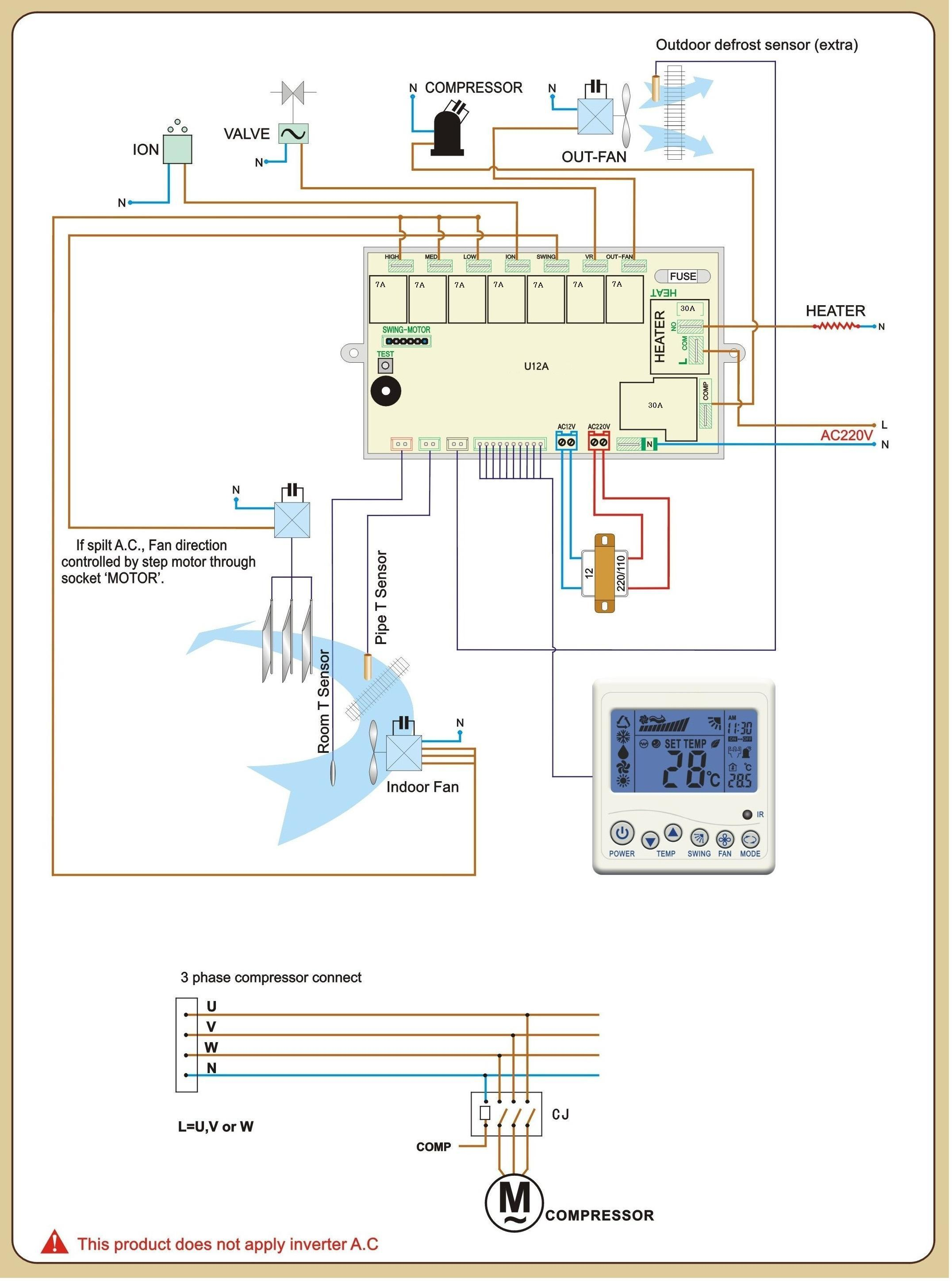 hvac thermostat wiring diagram motor capacitor manual how to change chinese home improvement