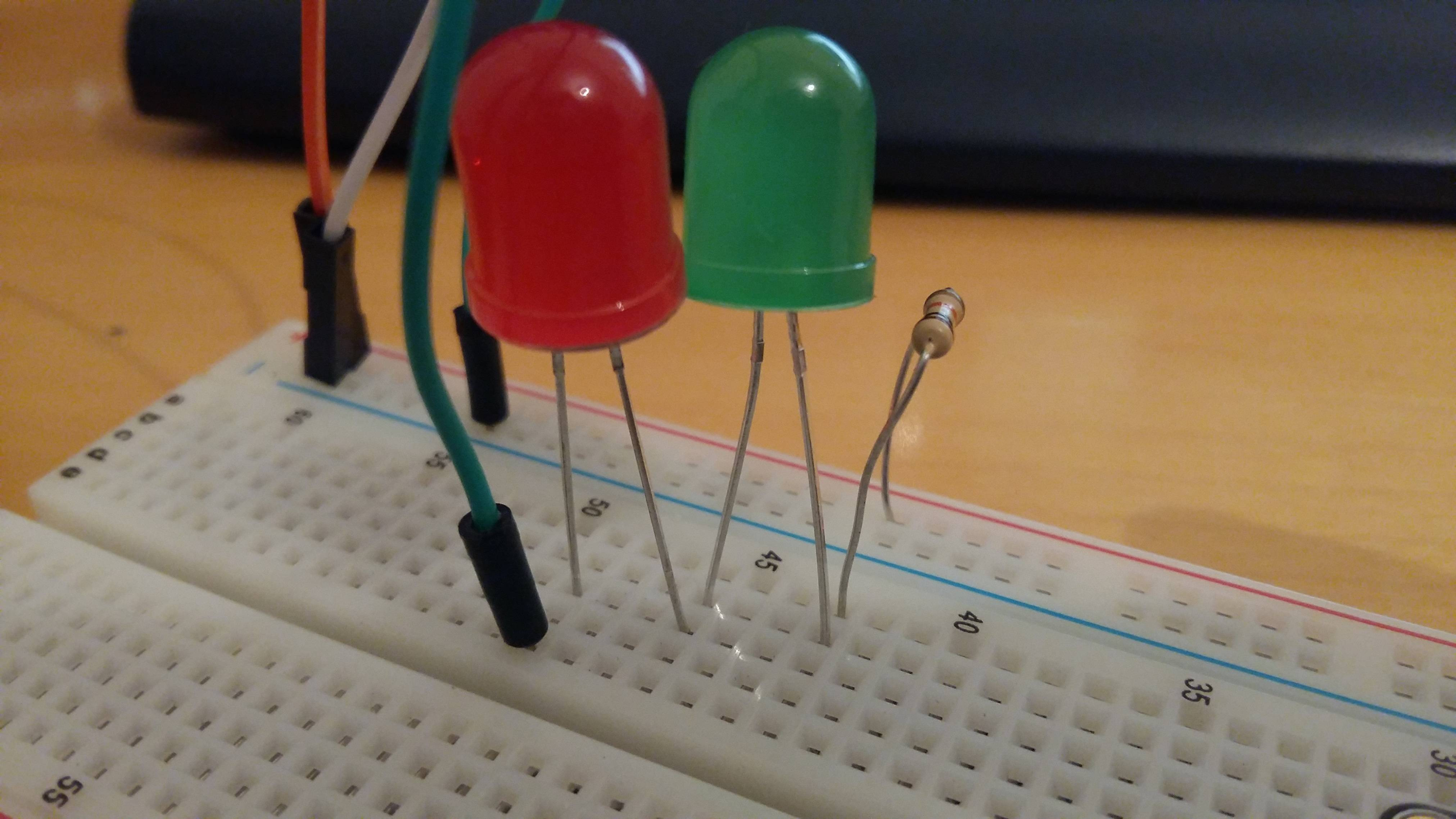 Three Leds In A Series Circuit Enlarge