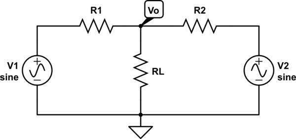 Batteries in parallel vs voltage signals in parallel