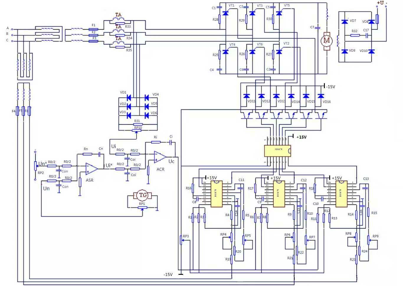 hight resolution of electrical scheme