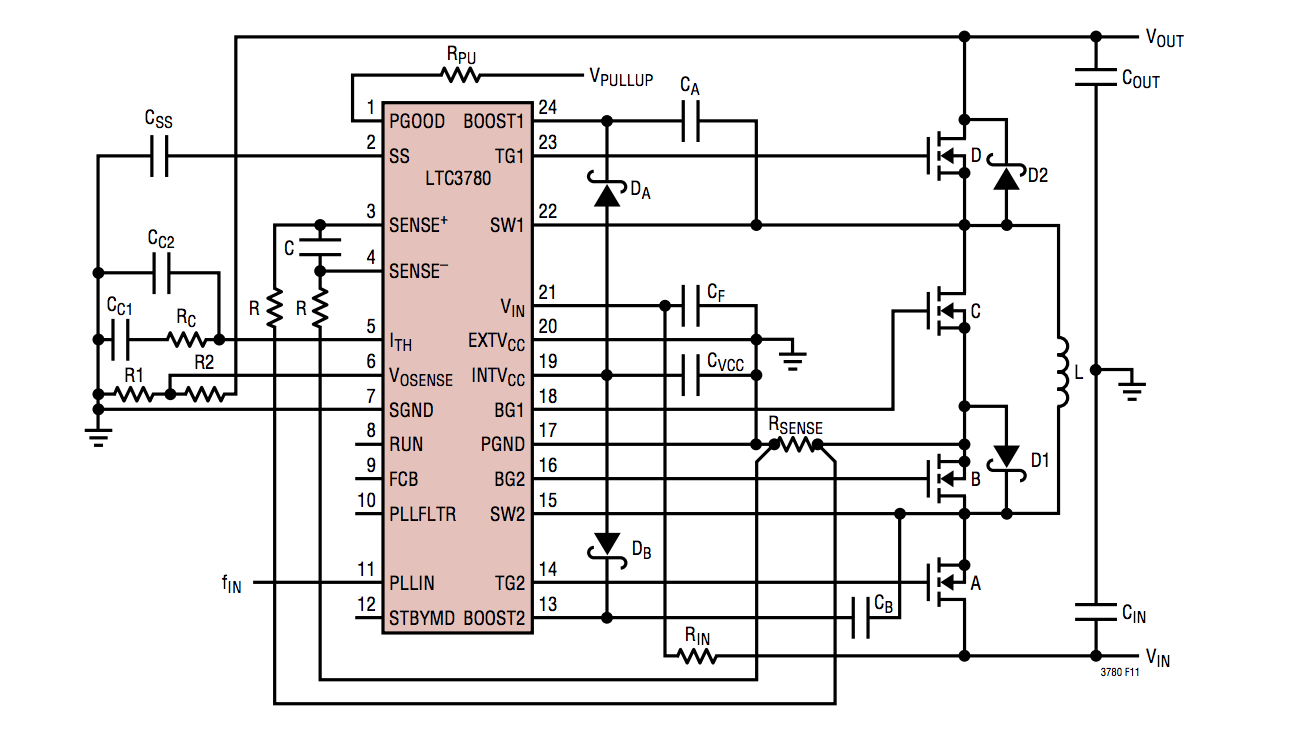 circuit diagram of buck boost converter rj45 outlet wiring how to control a from microcontroller enter image description here