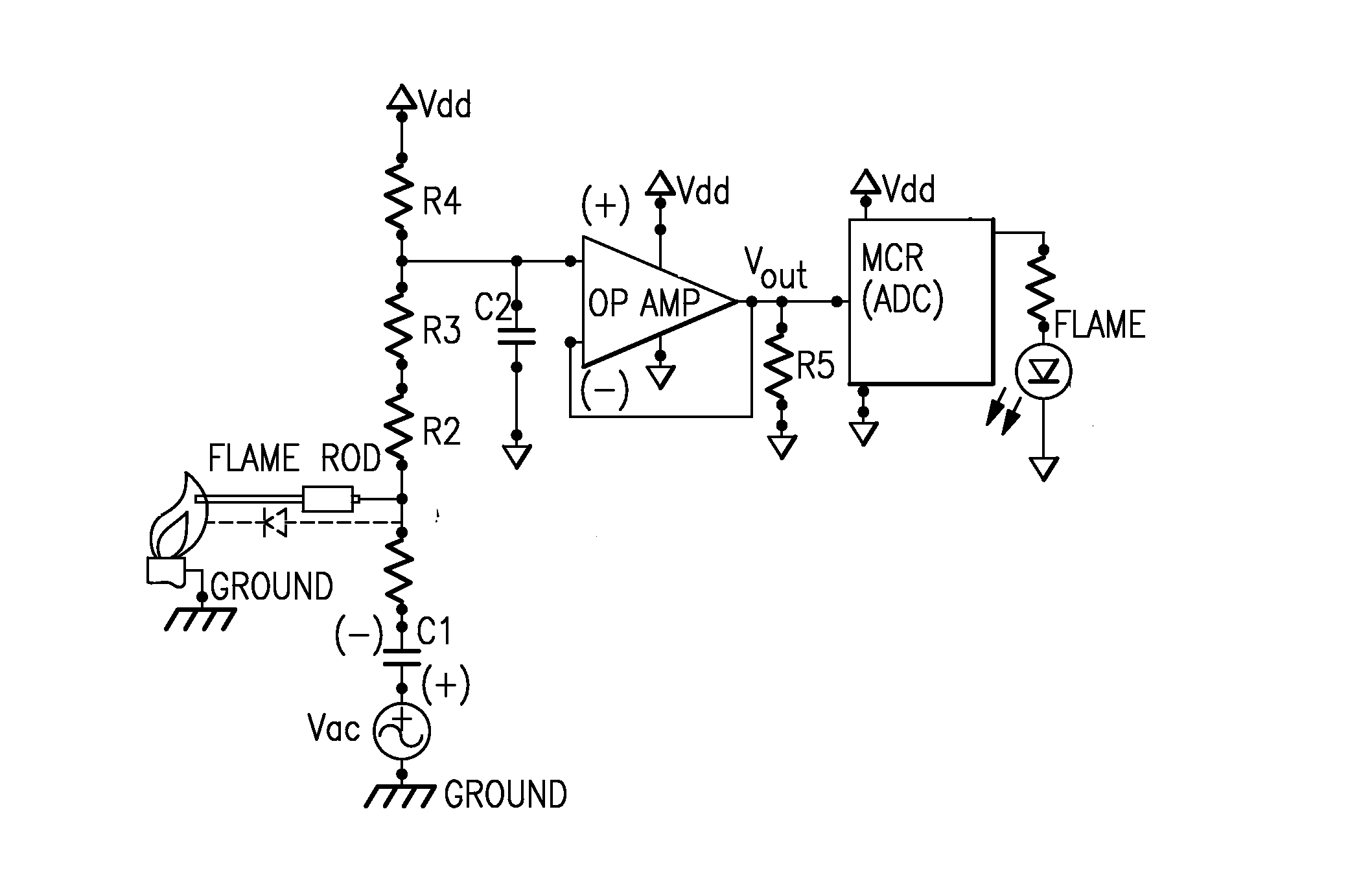 photo sensor circuit