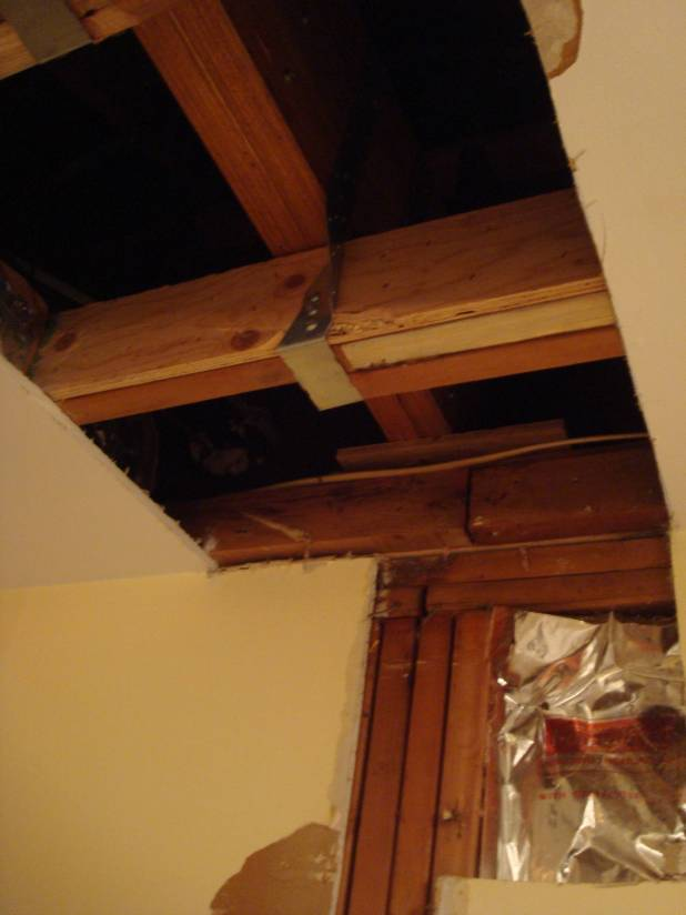 Installing A Beam Above Ceiling Joists Www