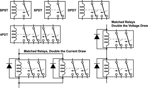 4pdt Relay Diagram 14 pin relay wiring diagram pdf 4p3t