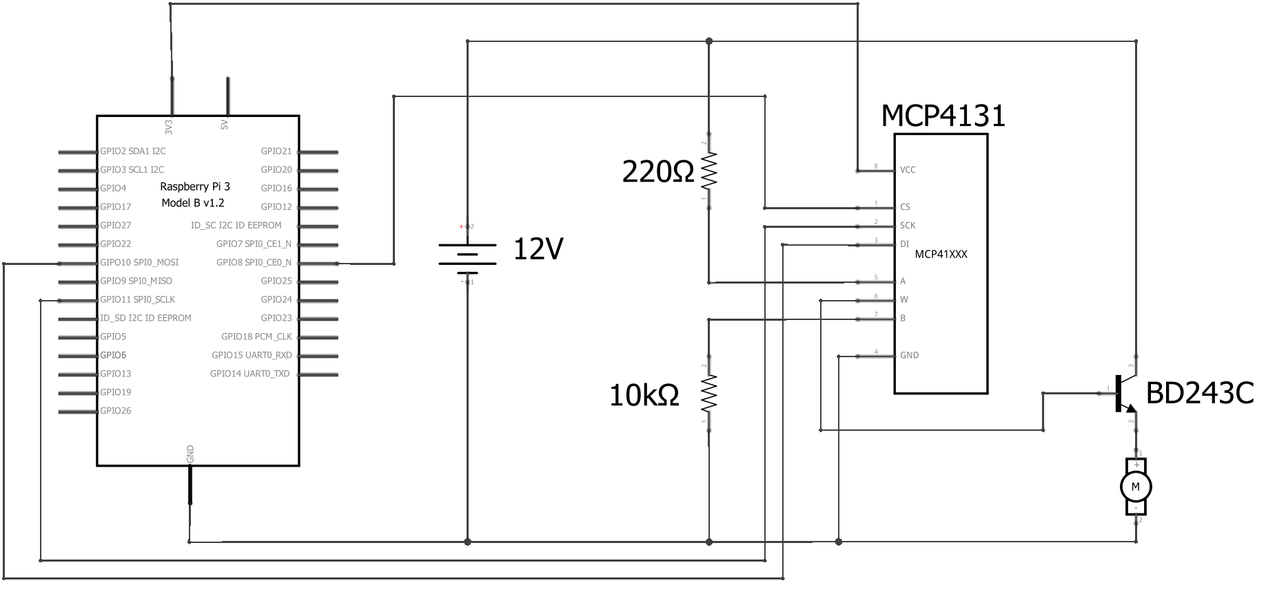 hight resolution of the circuit