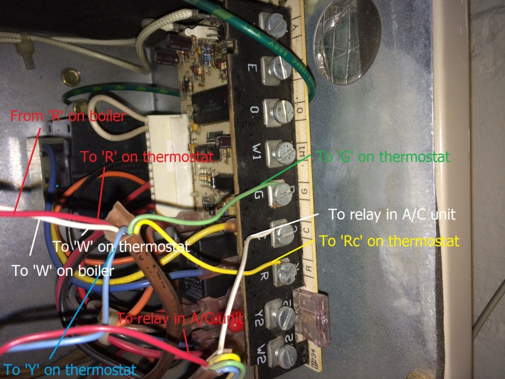 medium resolution of air conditioning how to add c wire using a c fan wire home wiring an air conditioning unit wiring an ac unit