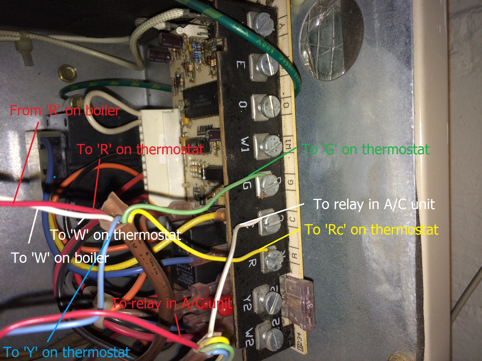 hight resolution of air conditioning how to add c wire using a c fan wire home wiring an air conditioning unit wiring an ac unit