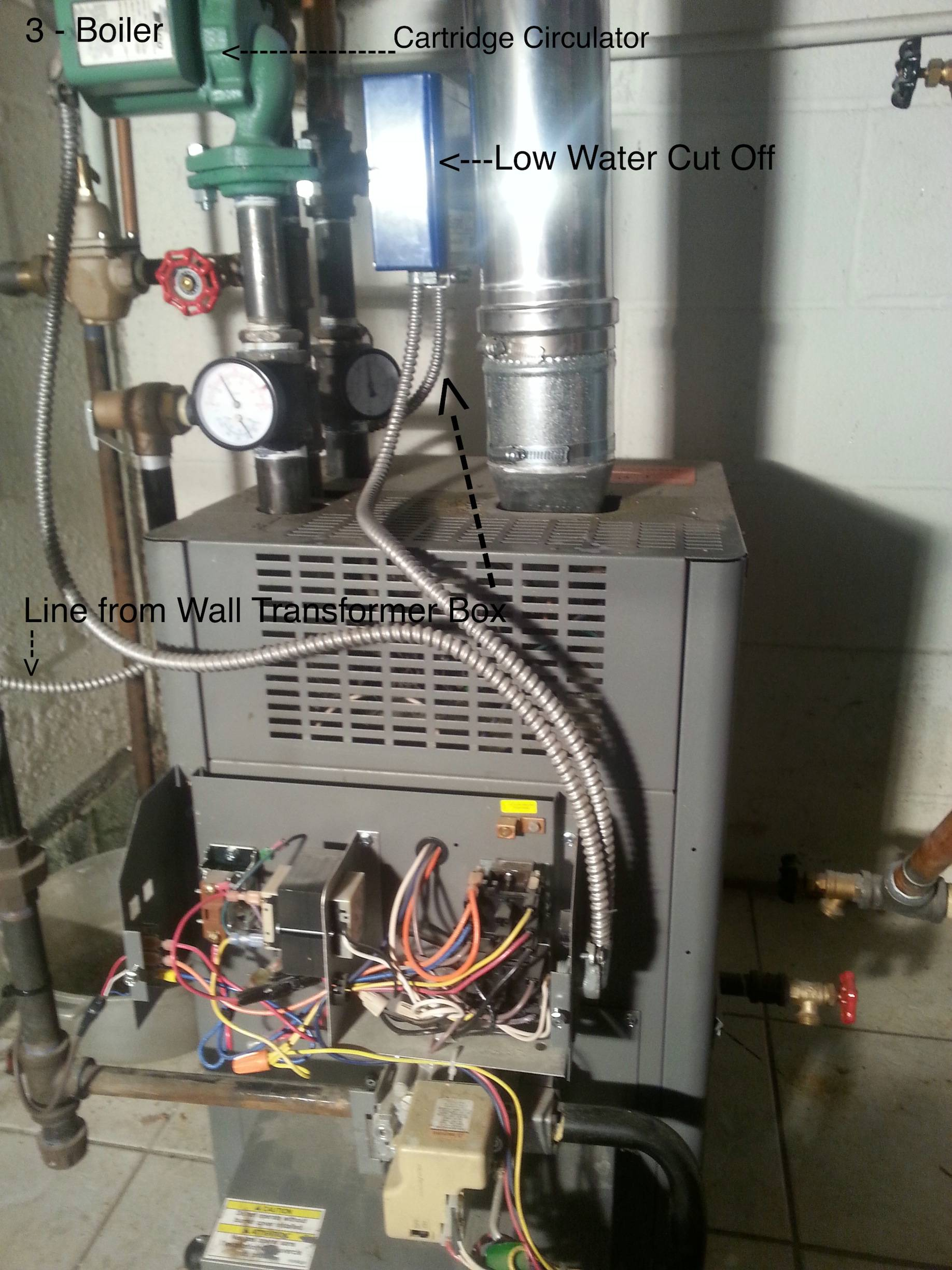 honeywell humidifier wiring diagram 1999 ford super duty trailer boiler - where do i connect my c wire from thermostat when there are two transformers? home ...