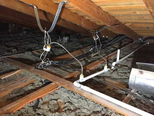 small resolution of condensate pumps for mini split system within attic is this the best location