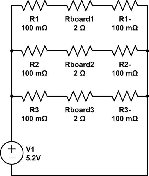 Voltage on circuit input different than on power supply