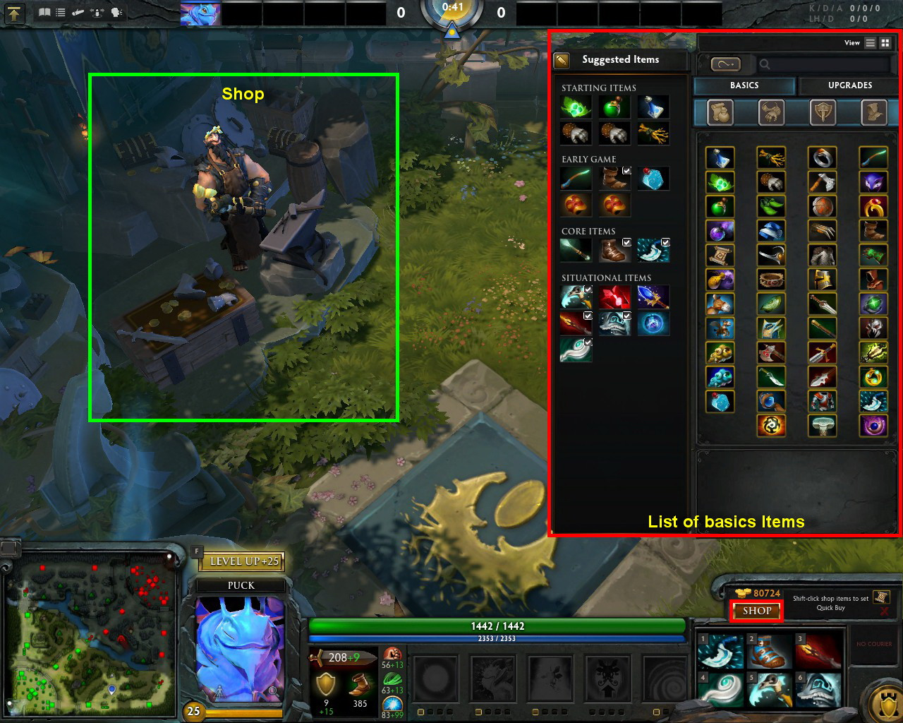 Dota 2 Using The Minus Key To Buy An Item In The