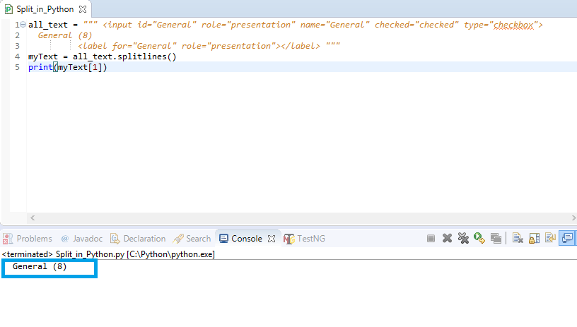 How to scraping the html text using selenium python - Stack Overflow