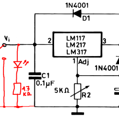Led Wiring Diagram 120v Trailer Lights 7 Pin South Africa Indicators Worksheet And Power Supply Add On Off Indicator To Circuit Electrical Rh Electronics Stackexchange Com Light Fixture Fluorescent Replacement