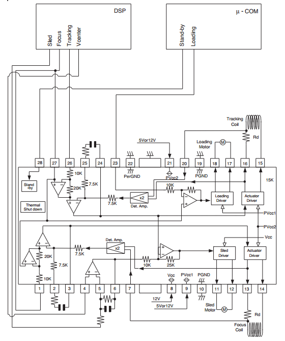 help understanding ba5954fp sled motor driver application