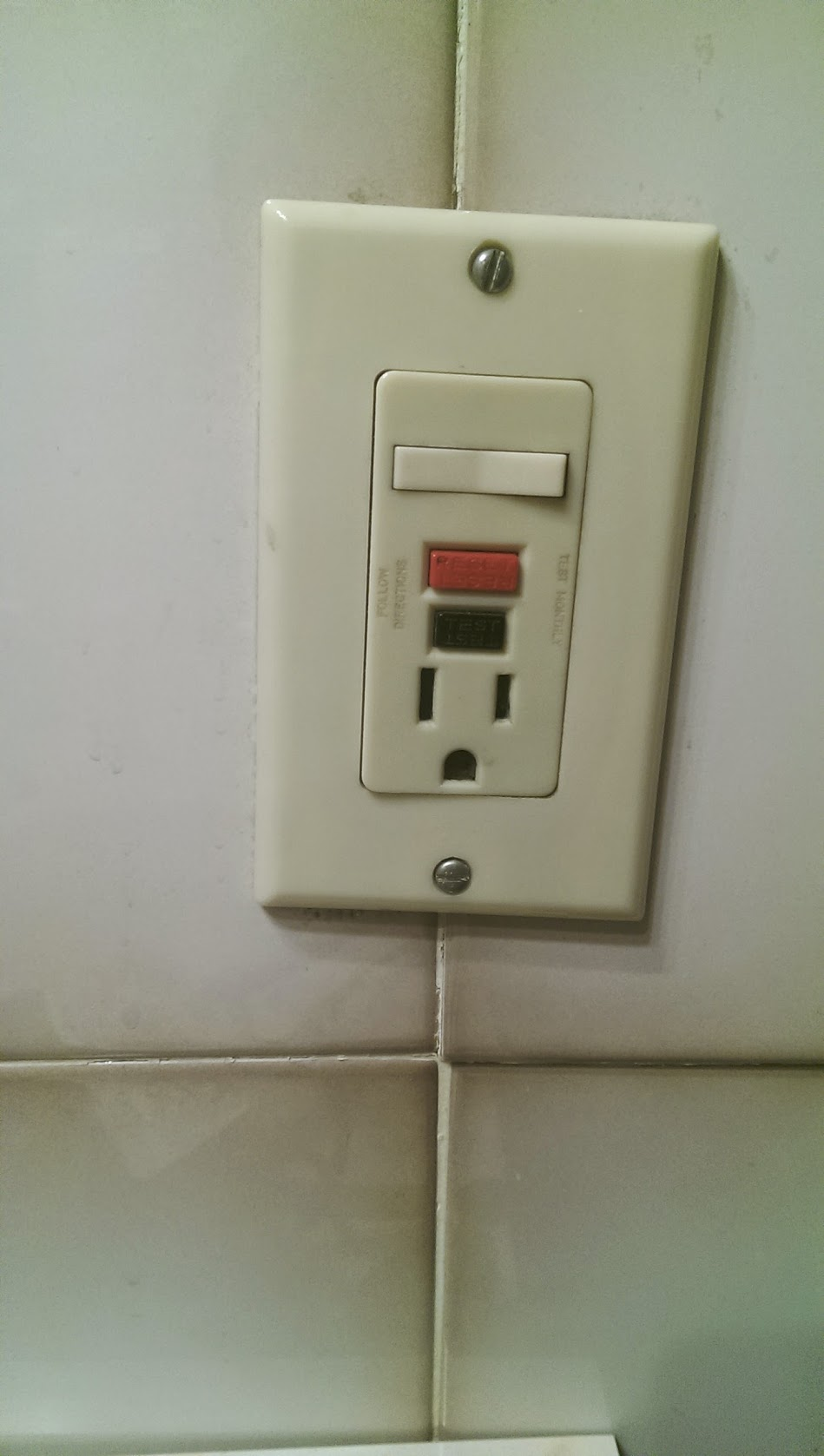 Bathroom Electrical Outlet