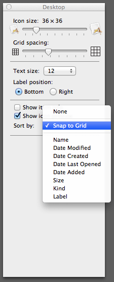 Snap To Grid : Enable, Snap-to-grid, Default, Super