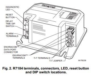 Honeywell Primary Control Wiring Diagram Goodman Heat Pump