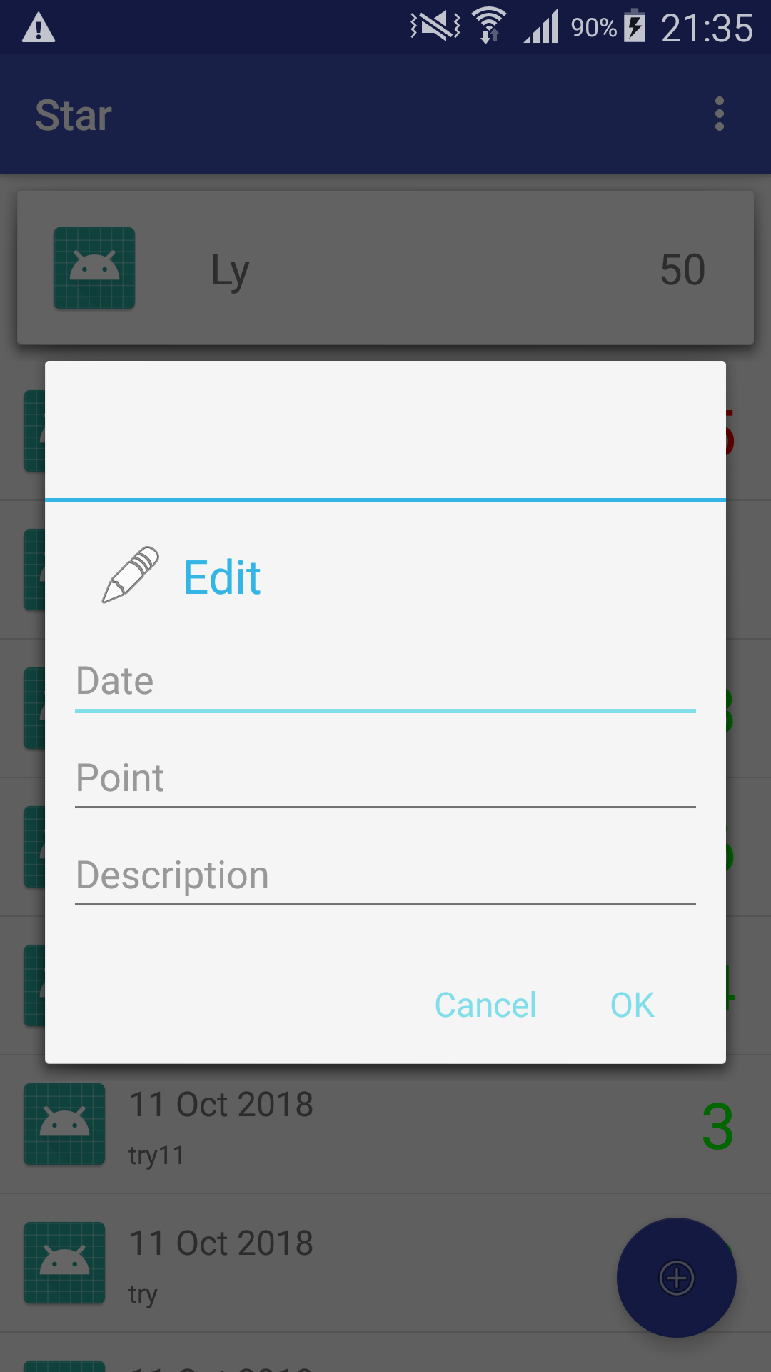 Android The Location Of Title For Alert Dialog Fall Below