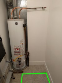 natural gas - Split Gas Line to Gas Water Heater for Gas ...