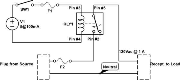Switches Wiring A SPDT Relay Electrical Engineering Stack Exchange
