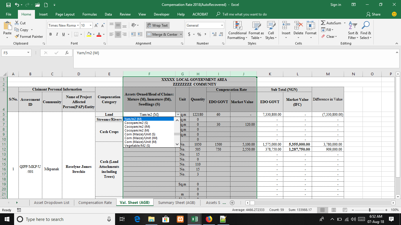 Excel Worksheet Reference From Cell