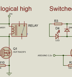 circuit diagram for relay driver [ 1248 x 640 Pixel ]